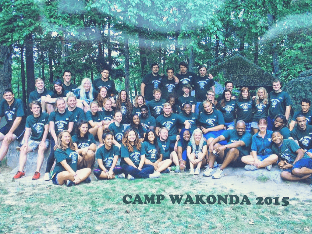 Amy McIlwaine's journey volunteering for Camp Wakonda Homes for the Homeless