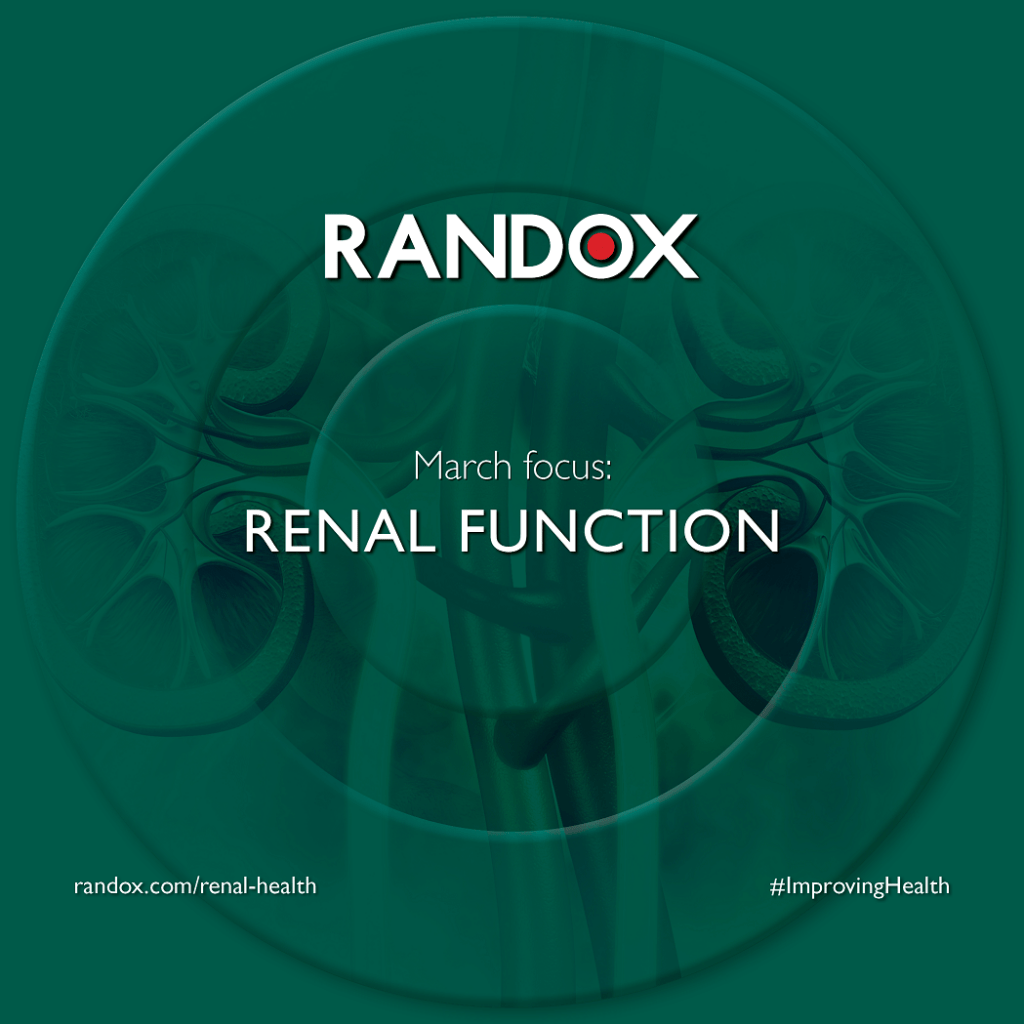 March focus - Renal Function - World Kidney Day