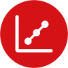 Correlation icon illustrating excellent correlation with standard methods
