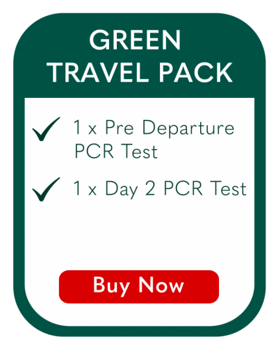 Covid Green Travel Pack